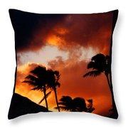 Maui Breeze Throw Pillow