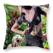 Maui Photo Festival 4 Throw Pillow