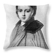 Maurice Sand (1823-1889) Throw Pillow