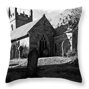 Mawnan Smith Parish Church Throw Pillow