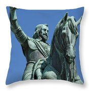 Maximilian Joseph Throw Pillow