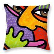Maxine Throw Pillow by Steven Scott