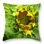 May I Sleep A Little While Longer Throw Pillow