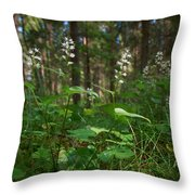 May Lily Throw Pillow