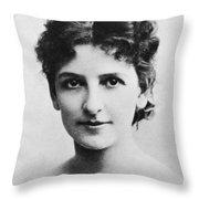 May Robson (1858-1942) Throw Pillow
