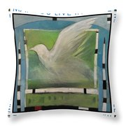 May You Live In Peace Poster Throw Pillow