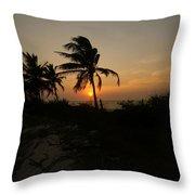 Mayan Paradise Throw Pillow