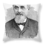 Mayer Lehman (1830-1897) Throw Pillow