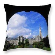 Maynooth Seminary, Co Kildare, Ireland Throw Pillow