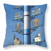 Maypole  Throw Pillow