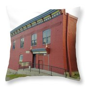 Mcarthur Center Greenwood Throw Pillow