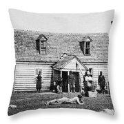 Mcclellans Headquarters Throw Pillow