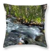 Mcgee Creek California Throw Pillow