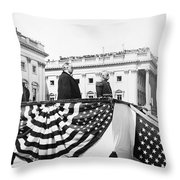 Mckinley & Dewey, 1899 Throw Pillow