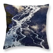 Mckinley Quicksilver Throw Pillow