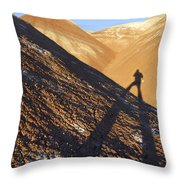 Me And My Shadow - Utah Throw Pillow
