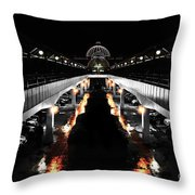 Meadow Hall Throw Pillow