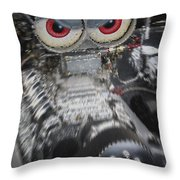 Mean Engine Throw Pillow