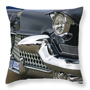 Mean Looking Grill Throw Pillow