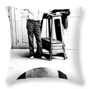 Measurement Of The Cubit, Bertillon Throw Pillow