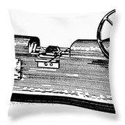 Measuring Machine Throw Pillow
