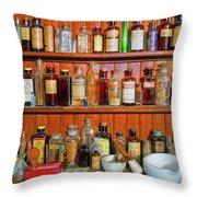 Medicinals Throw Pillow