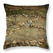 Medicine Wheel, Sedona, Arizona Throw Pillow