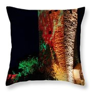 Medieval And Modern Times Throw Pillow