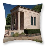 Meditation Chapel  Throw Pillow