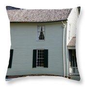 Meeks Store Appomattox Court House Virginia Throw Pillow