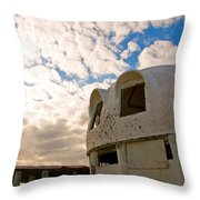 Meet Me On The Veranda Throw Pillow