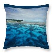 Meldives Paradise Throw Pillow