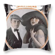 Mello Cello Throw Pillow