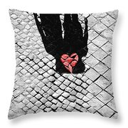 Melted In Love Throw Pillow