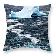 Melting Iceberg Throw Pillow