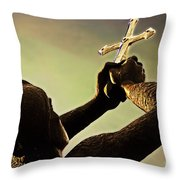 Memorial To Armenian Genocide Throw Pillow