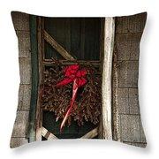 Memories Of Christmas Past Throw Pillow