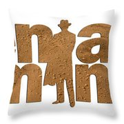 Men Are From Mars Throw Pillow