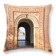 Menara Gardens Throw Pillow