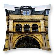 Menominee Opera House Throw Pillow