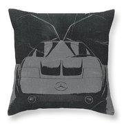 Mercedes Benz C IIi Concept Throw Pillow by Naxart Studio