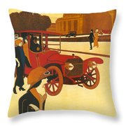 Mercedes Daimler Throw Pillow