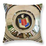Mercury Wheel Emblem Throw Pillow