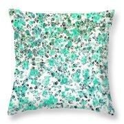 Mermaid Dreams Abstract Throw Pillow