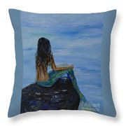 Mermaid Magic Throw Pillow