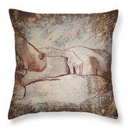 Mermaid Redo Throw Pillow