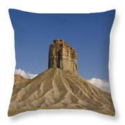 Mesa Spire Throw Pillow