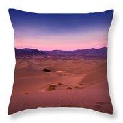 Mesquite Dunes Throw Pillow