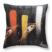 Message From The Future II. Throw Pillow