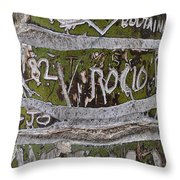 Messages Throw Pillow
